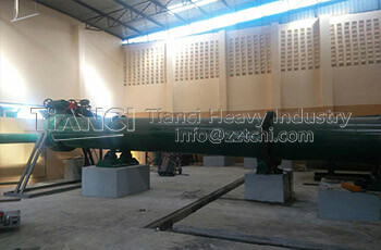 Malysia Organic Fertilizer Production Line Installation Site