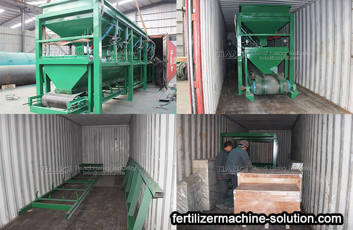 Organic fertilizer production line sent to Malaysia