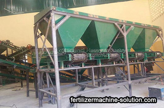 Inner Mongolia Organic Fertilizer Production Line Installation Site