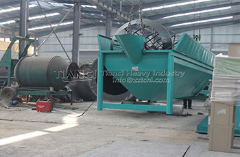 organic fertilizer production equipment