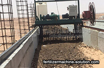 Xi'an city Organic Fertilizer Powder Production Line Site