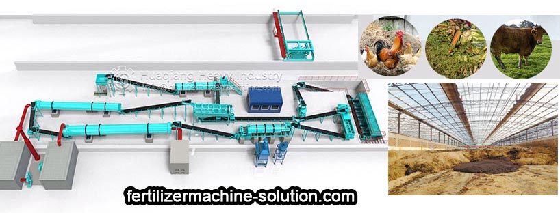 How to increase the output of organic fertilizer production line