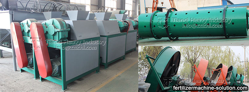 Environmental protection granulation technology of fertilizer production line