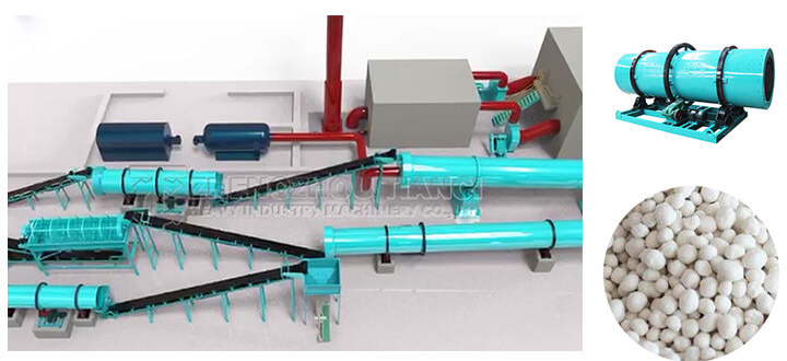 Fertilizer granulator machine of NPK fertilizer production line