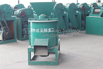 Half-Wet Material Crusher