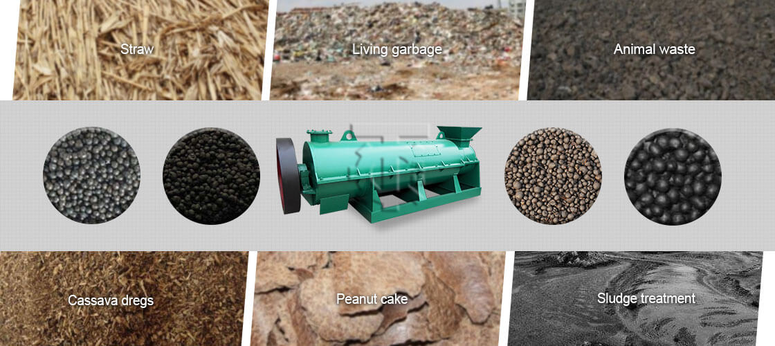 material New Type Organic Fertilizer Granulator