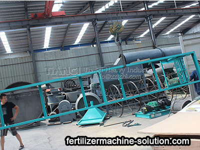 bb fertilizer production line 2