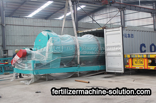 two-in-one organic fertilizer granulator