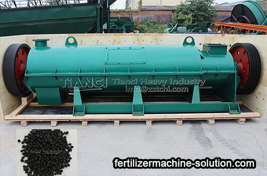 New type organic fertilizer granulation production line