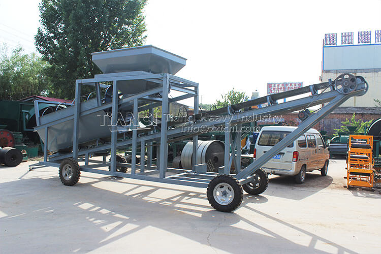 Mobile Screener Machine