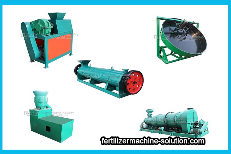 Innovation is the driving force for the development of granulator machine for fertilizer