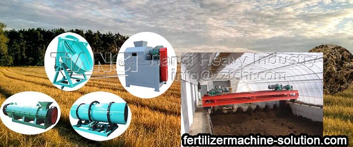 What are the granulators of organic fertilizer production line?